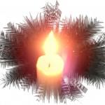 Замерзшая свеча