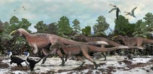 Останки самого большого летающего динозавра найдены в Китае